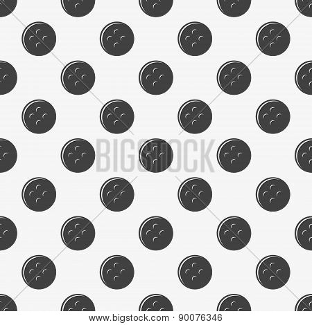 Seamless pattern of buttons