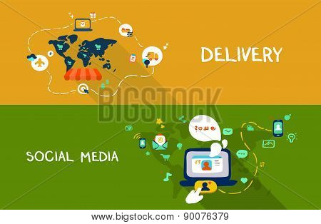 Delivery And Social Media