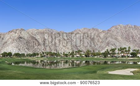 the golf course at the ANA inspiration golf tournament 2015