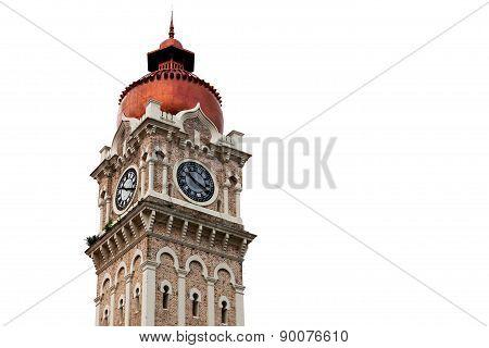 Clock Tower Near Mederka Square