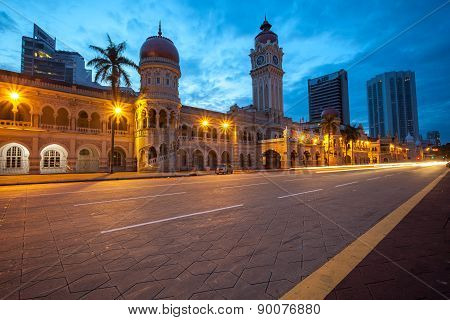 The Sultan Abdul Samad Building