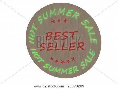 Best Seller Product Badge.