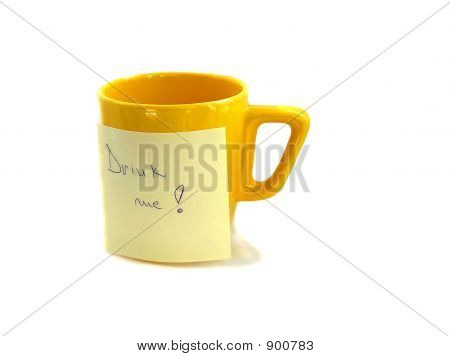 Yellow Cup With