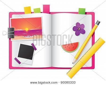 Girl's Diary