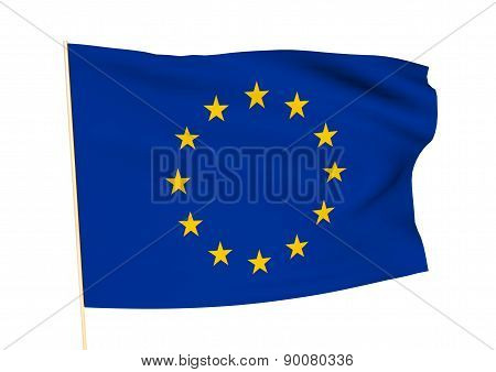 Image Of A Flag Of Europe