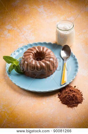 bavarese cacao, traditional dessert