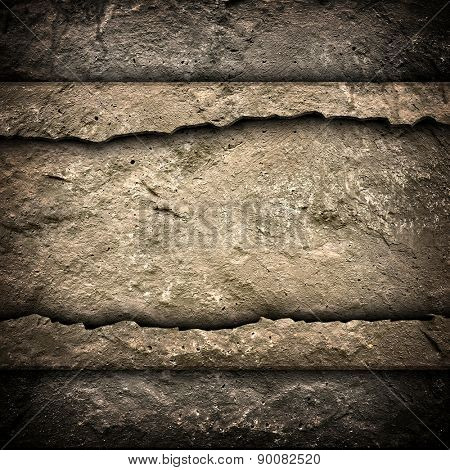 crack concrete wall