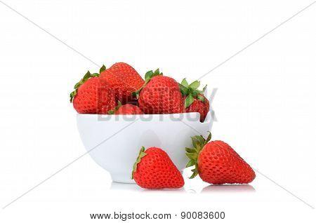 Bowl Strawberries