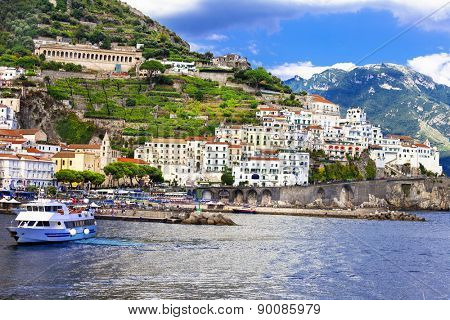 pictorial Amalfi coast. Itay