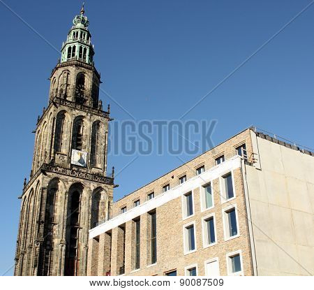 Martini tower.Groningen