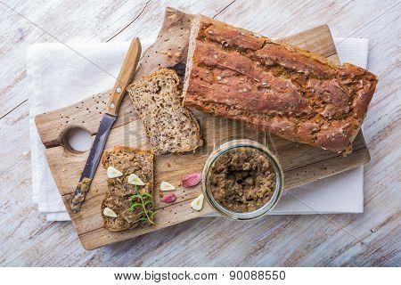 Sandwich With Lentils Pate