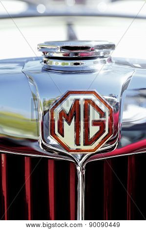 Mg Sports Car In 1953 Years