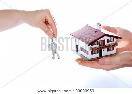 Taking A House Model