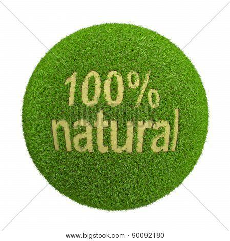 Percent natural