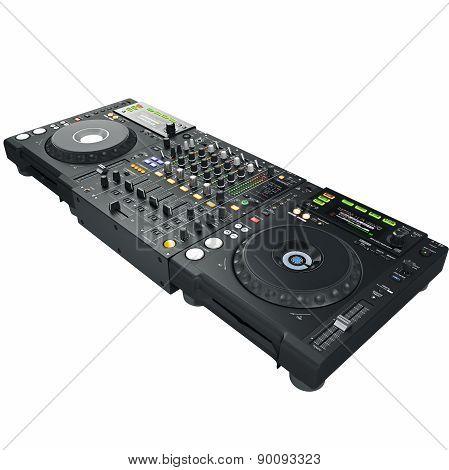 Dj mixer and player