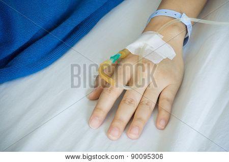 Patient's Hand