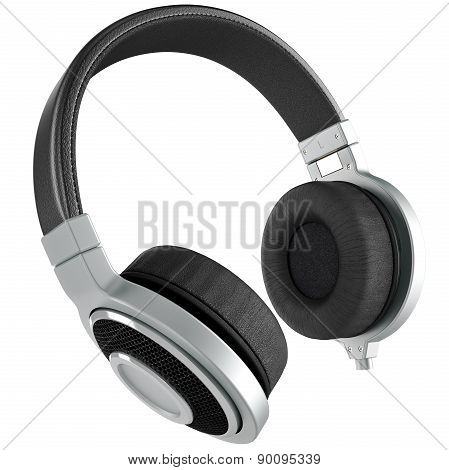 Headphones black