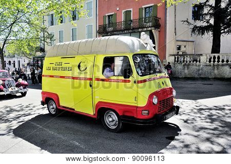 Renault Estafette The Assistance Of 1960