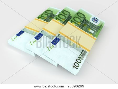 Euro. Money And Business Concepts