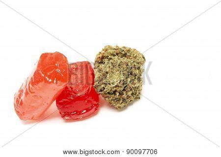 Marijuana and THC Candy