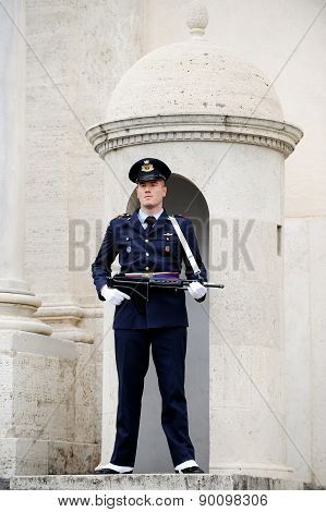 Quirinale Palace Guard
