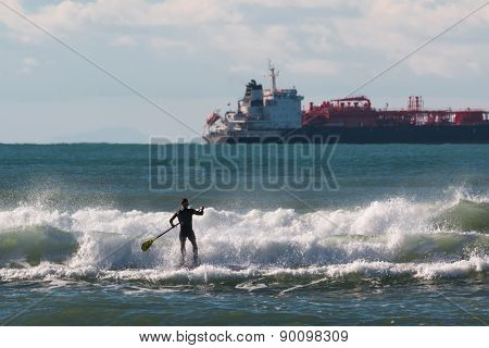 Stand Up Paddle Board, Man Paddleboarding
