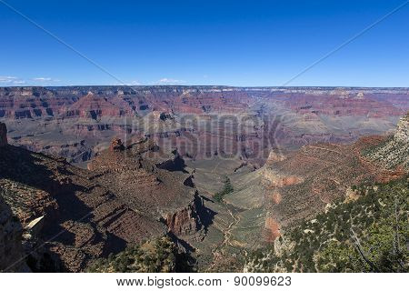 Colorado grand canyon, from south rim, Arizona