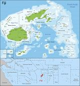 picture of pacific islands  - Fiji is an island country in Melanesia in the South Pacific Ocean - JPG