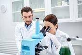 stock photo of reagent  - science - JPG
