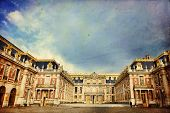 picture of versaille  - Outside view of Famous palace Versailles - JPG