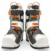 image of ski boots  - Sports shoes - JPG