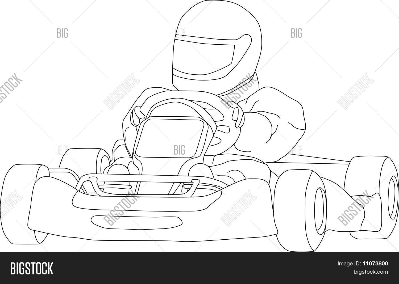 Go Kart Vector & Photo