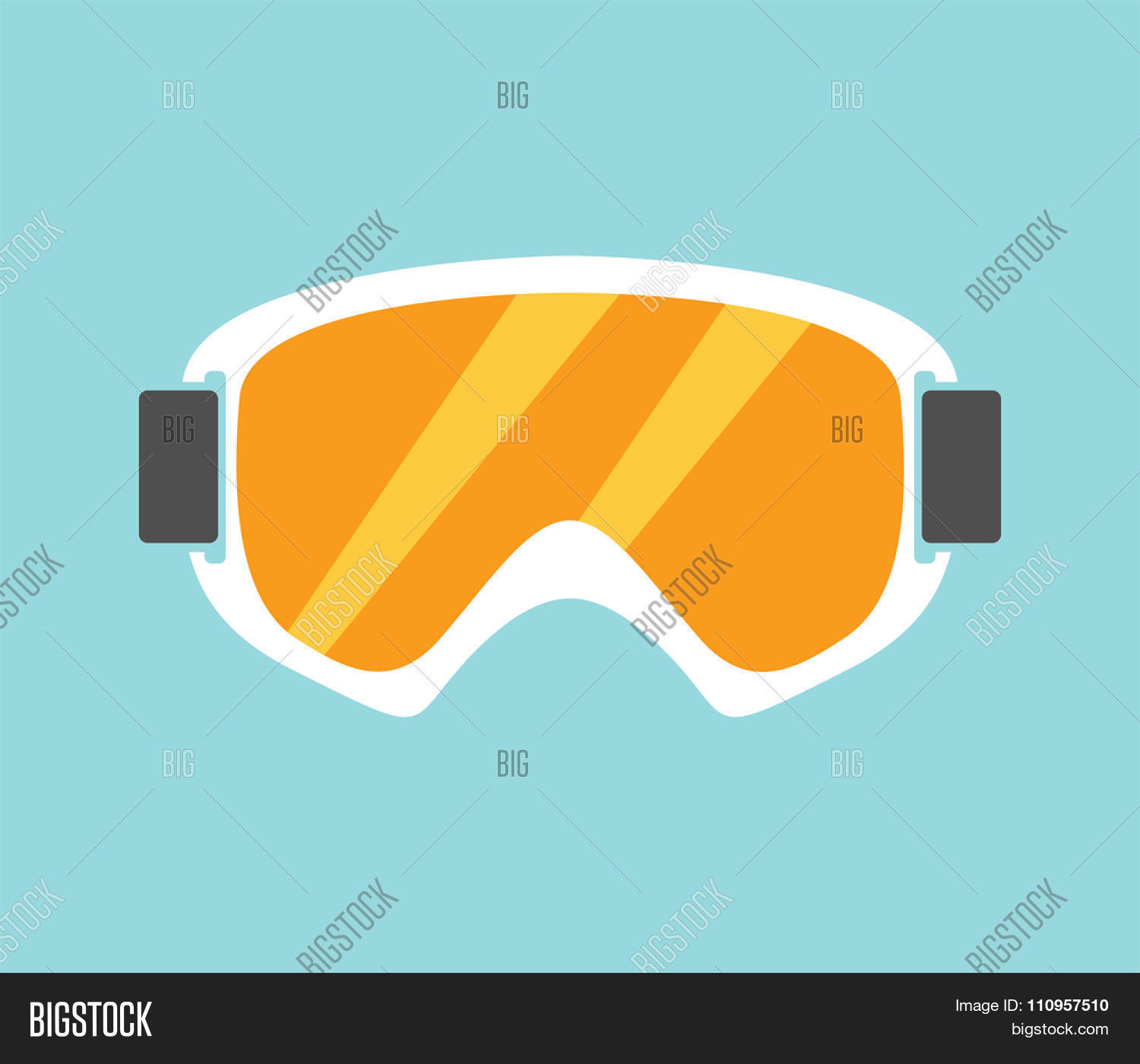snowboarding glasses  Vectores y fotos en stock de Snowboard sport glasses tools ...