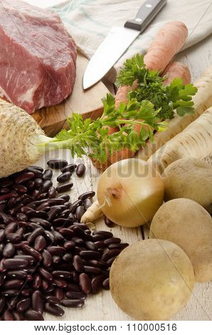 Healthy Ingredients To Make Red Bean Soup