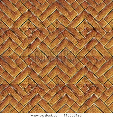 Intricate Geometric Abstract Pattern