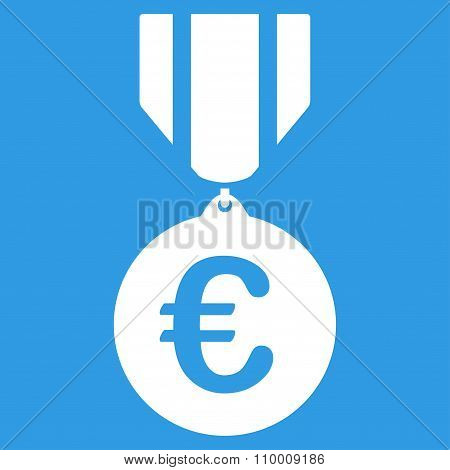 Euro Honor Medal Icon