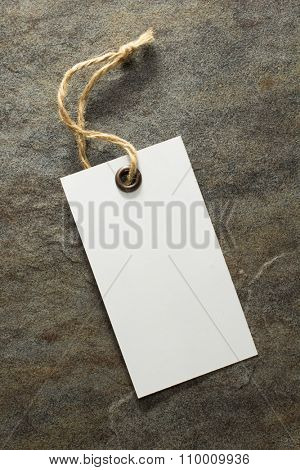 price tag label on old background
