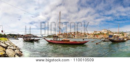 Porto And Old  Traditional Boats