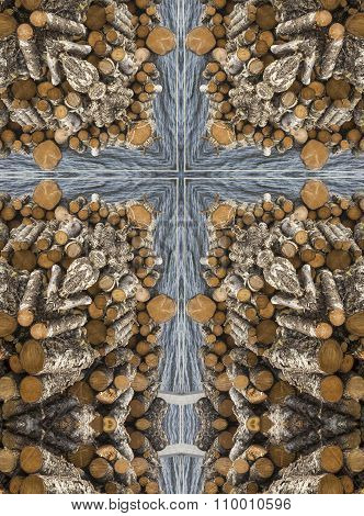kaleidoscope cross: firewood and water