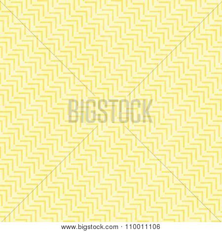 Yellow Geometric Design Tile Pattern Repeat Background