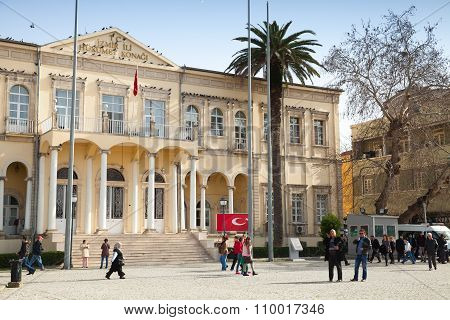 Izmir Goverment Office, Konak Square, Turkey