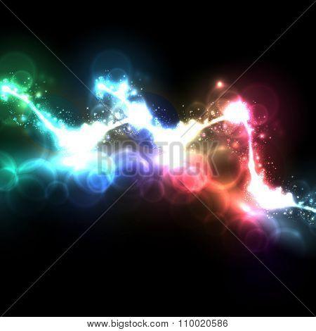 abstract light easy all editable