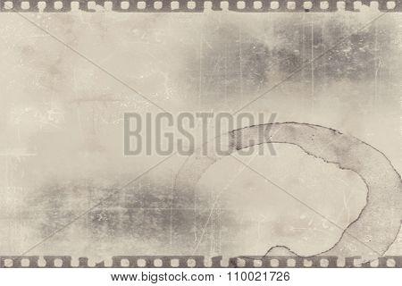 Old photo film negative frames