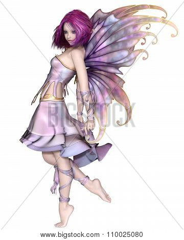 Pretty Purple Fairy