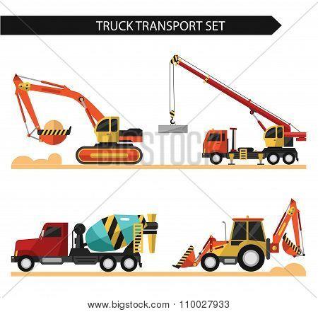 Truck transport set