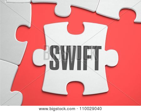 Swift - Puzzle on the Place of Missing Pieces.