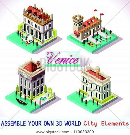 Venice 01 Tiles Isometric