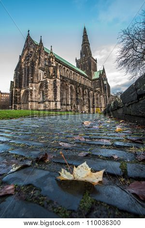 Glasgow Cathedral Cobbles