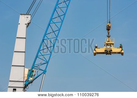 Port Crane For Transipment Of Freight Containers