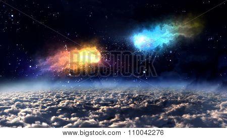 Space Orbit Meteor Air Bursts Crash